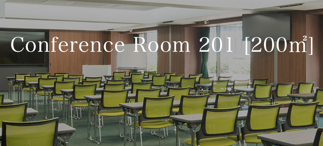 Conference Room 201  [200㎡]